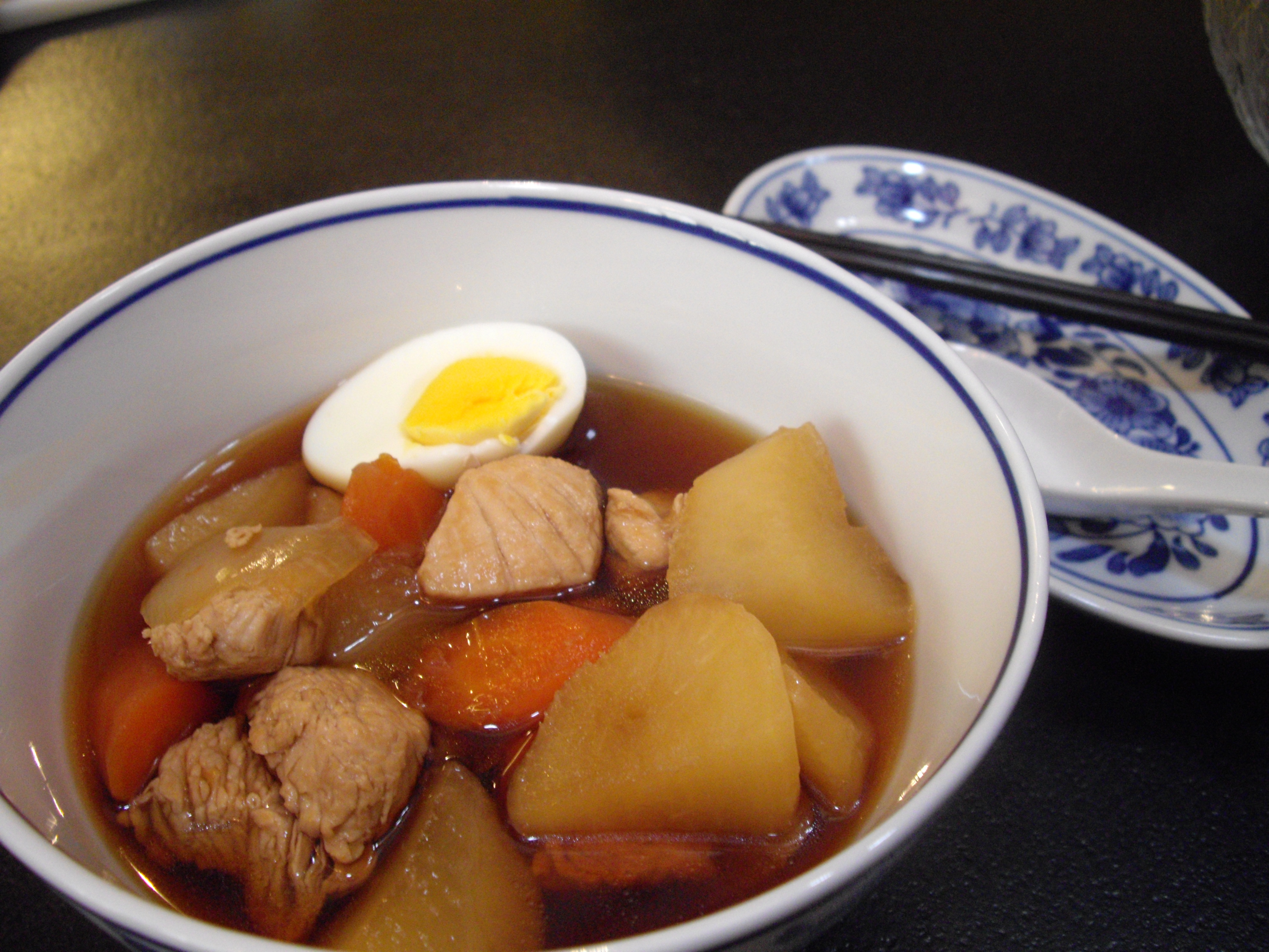 Japanese Style Turkey Simmered with Carrots and Turnips ...