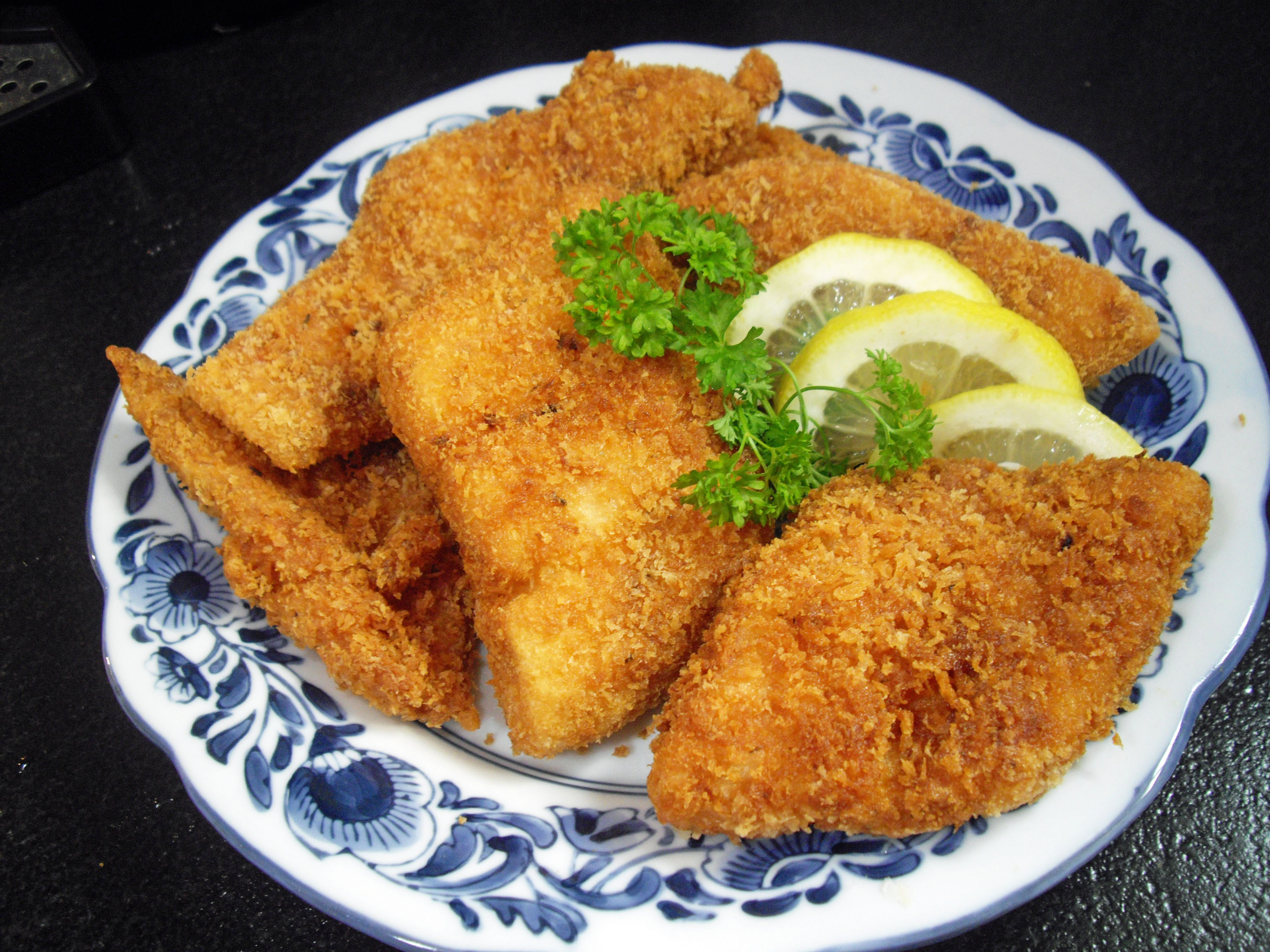 panko deep fried fish recipe