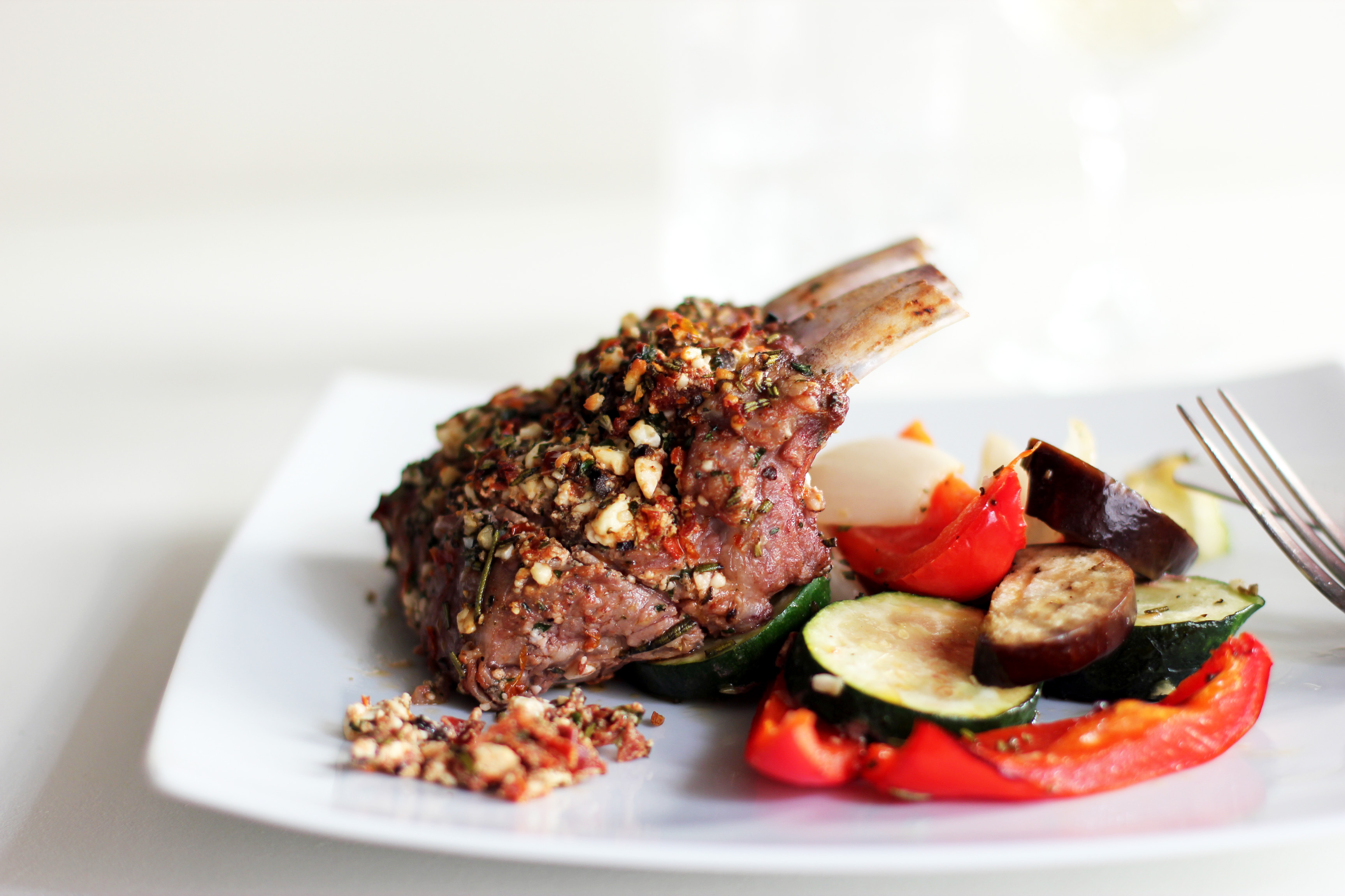 Jamie Oliver's Stuffed Rack of Lamb | Cooking in Sens
