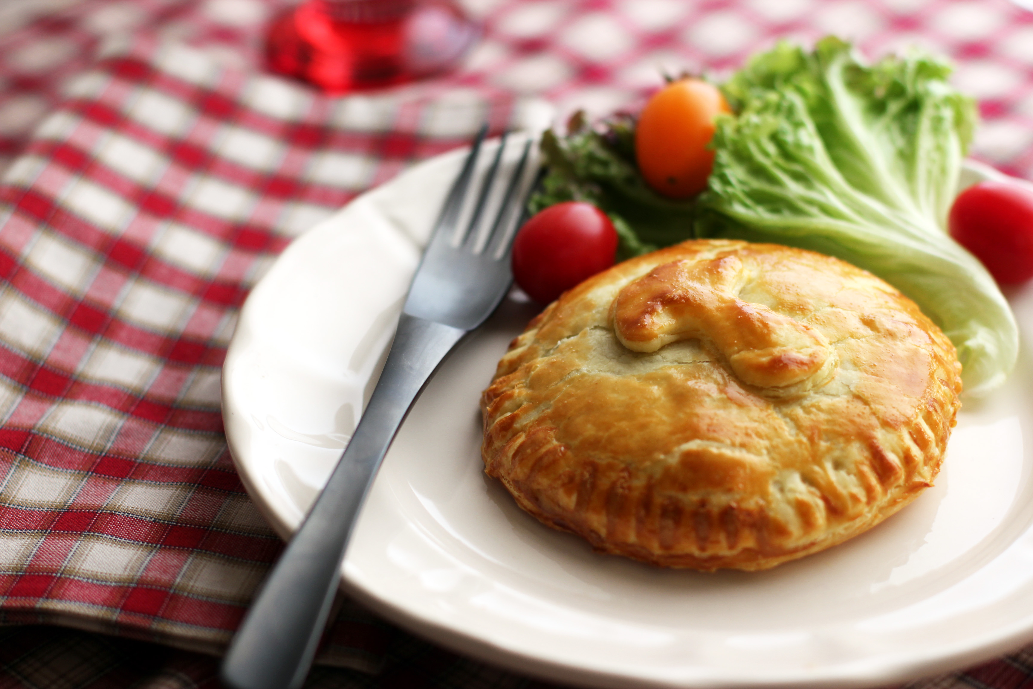 how to serve meat pies