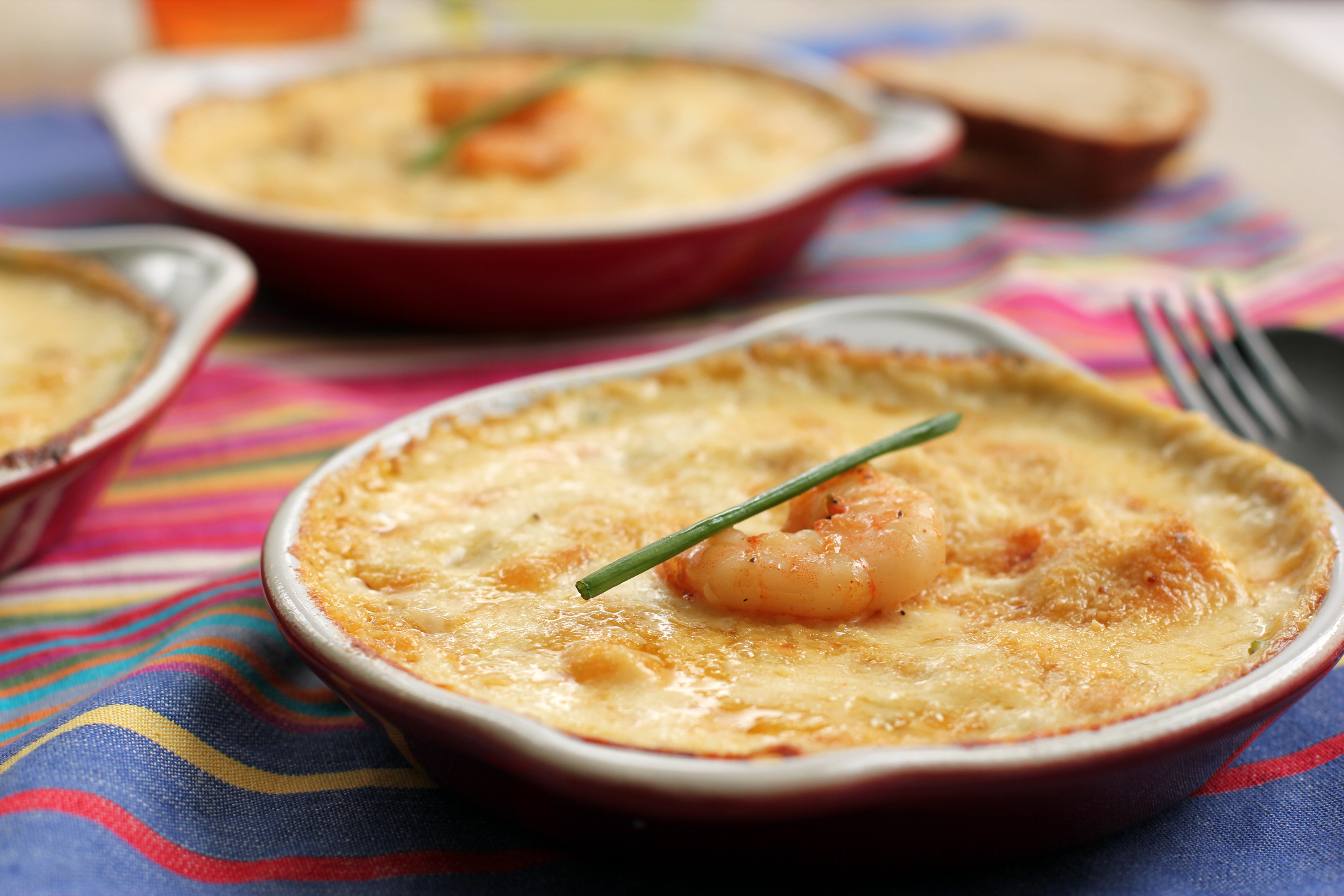 challenge with shrimp as with most fish spicy shrimp gratin shrimp ...