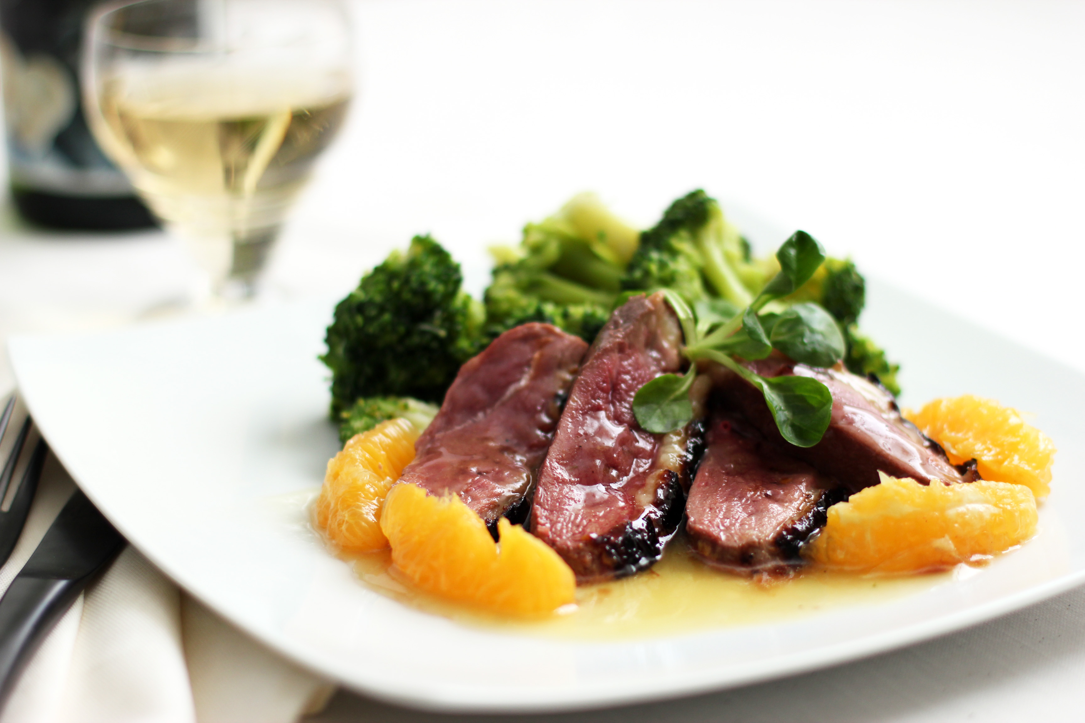duck recipes breast