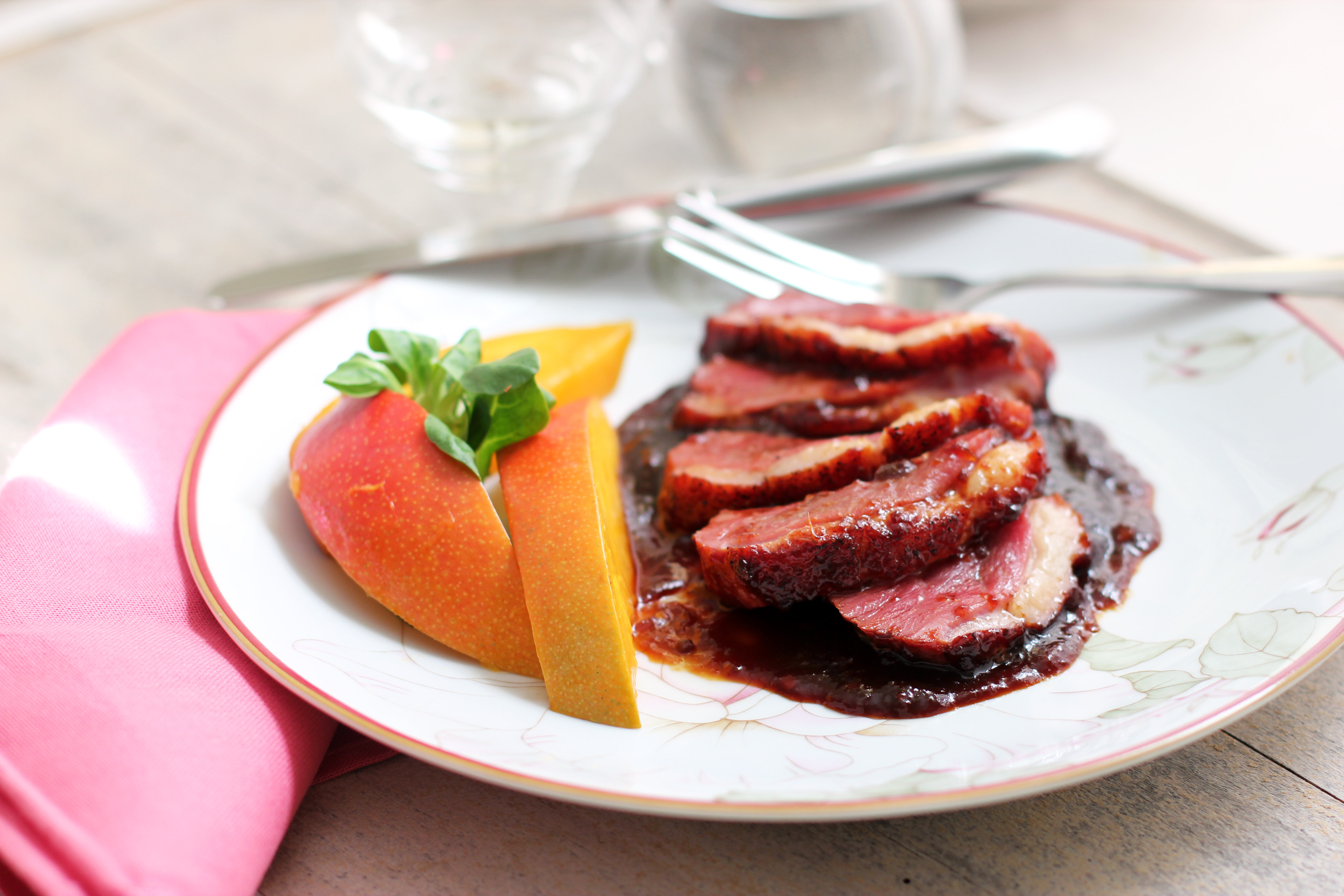 Duck Breast with Mango Sauce | Cooking in Sens
