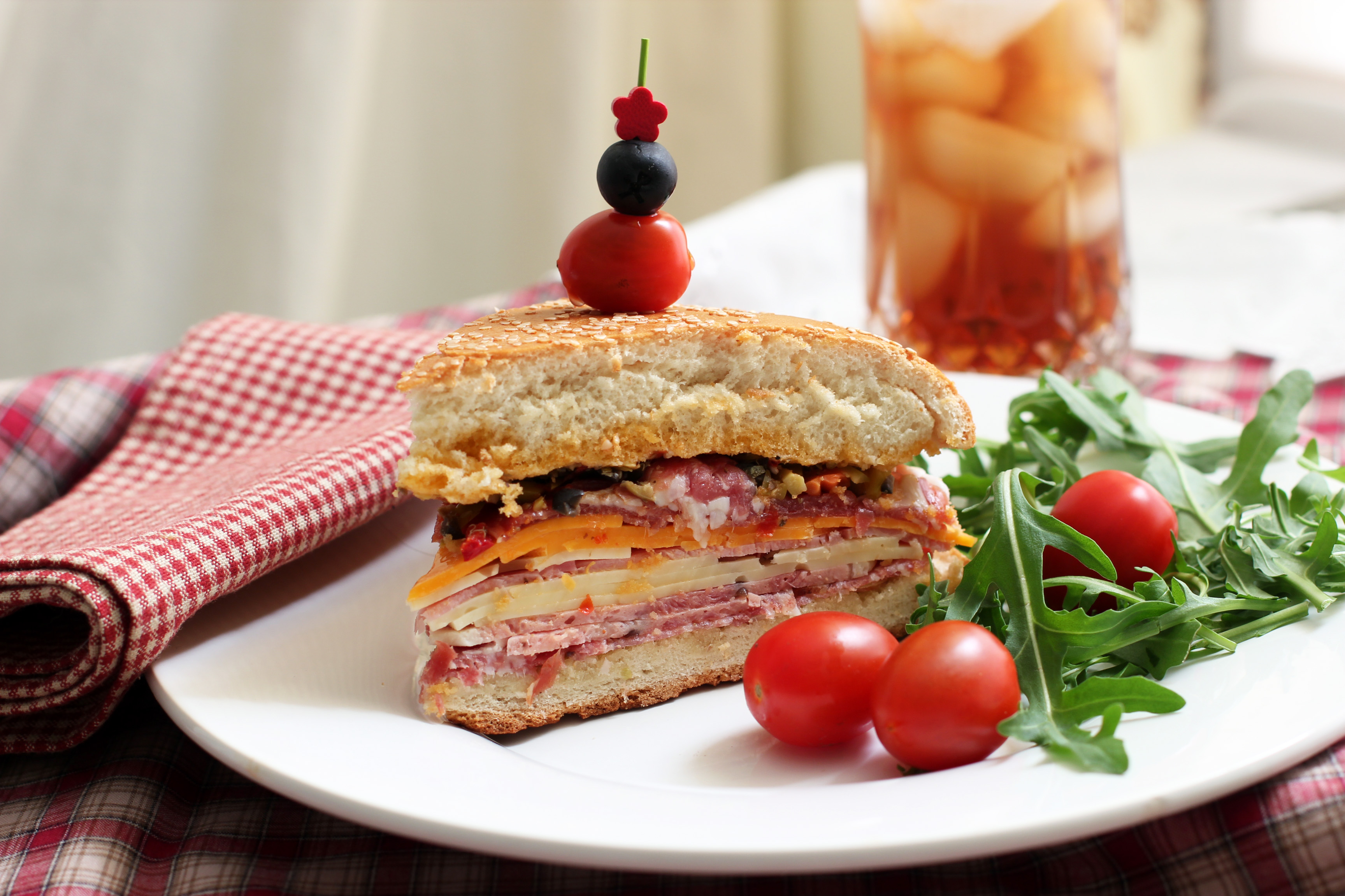 Muffuletta Sandwich: The Original Manwich | Cooking in Sens